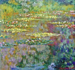 Claude Oscar Monet - Water Lilies43
