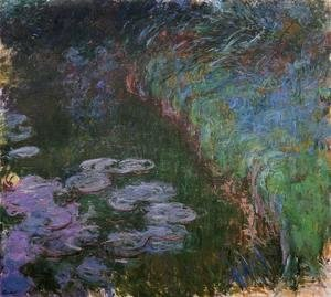 Claude Oscar Monet - Water Lilies47