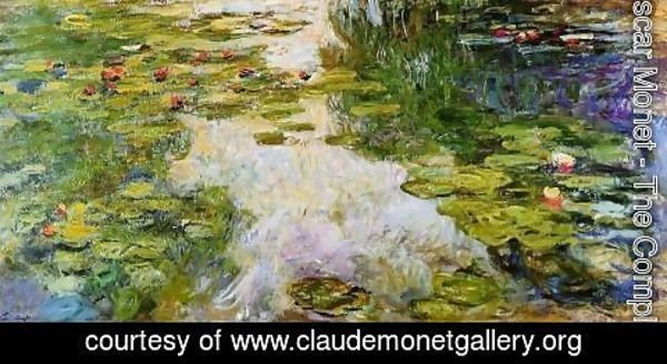 Claude Oscar Monet - Water Lilies48