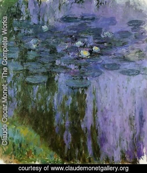 Claude Oscar Monet - Water Lilies49