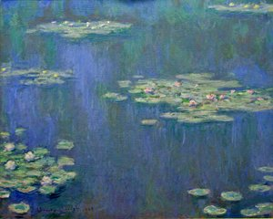 Claude Oscar Monet - Water Lilies50
