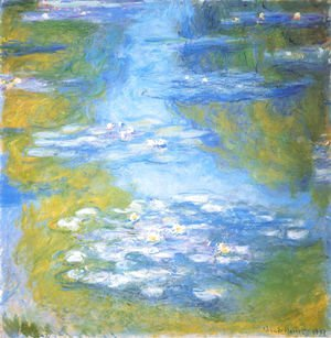 Claude Oscar Monet - Water Lilies51