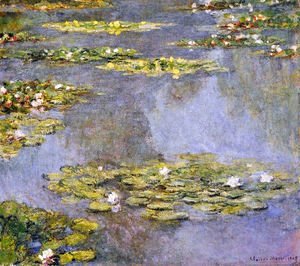 Claude Oscar Monet - Water Lilies52