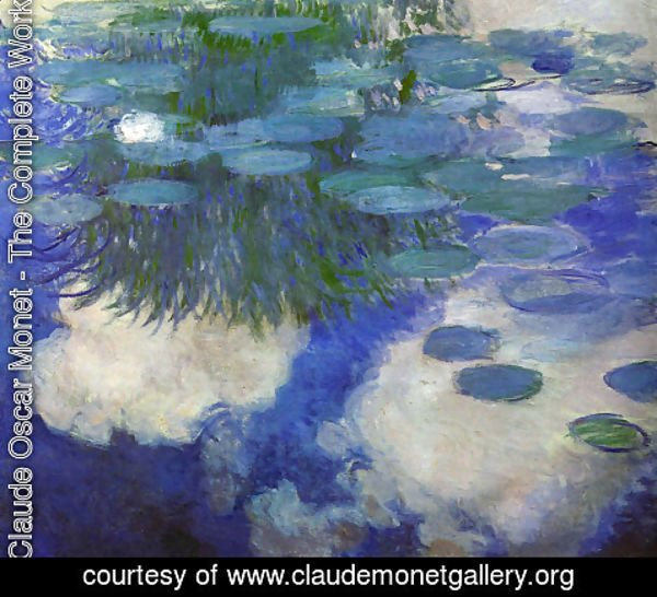 Claude Oscar Monet - Water Lilies53