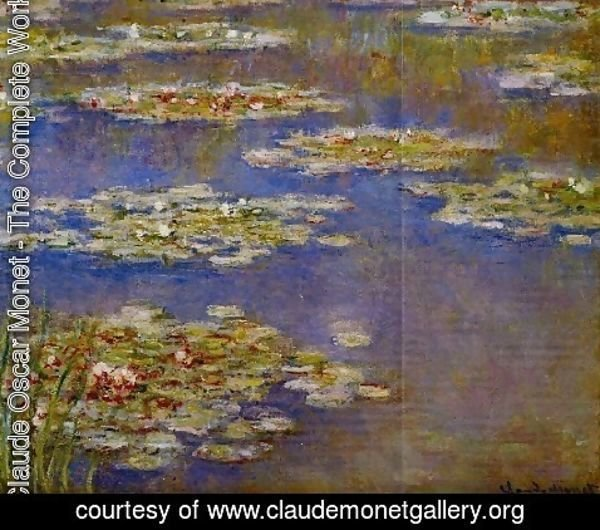 Claude Oscar Monet - Water Lilies55