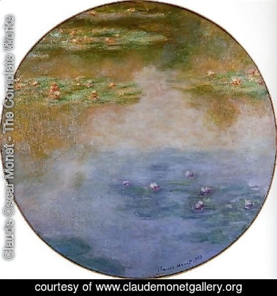 Claude Oscar Monet - Water Lilies56