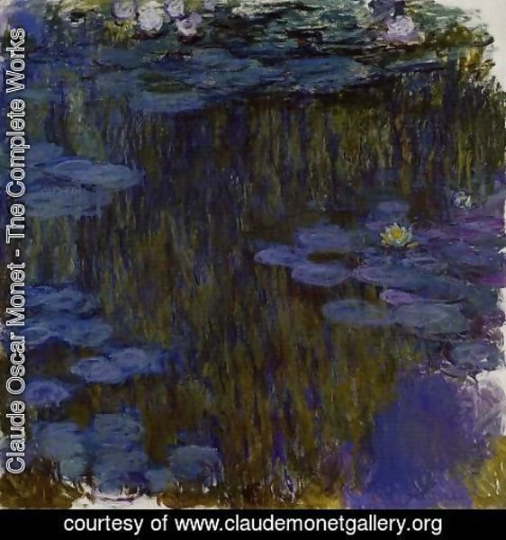 Claude Oscar Monet - Water Lilies57