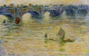 Claude Oscar Monet - Waterloo Bridge 3