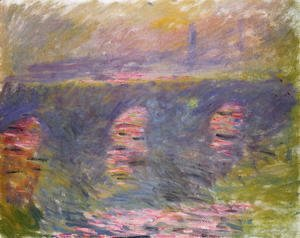 Claude Oscar Monet - Waterloo Bridge3