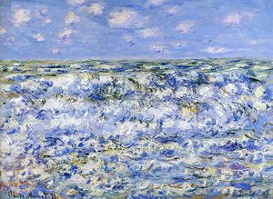 Claude Oscar Monet - Waves Breaking
