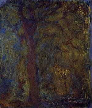 Claude Oscar Monet - Weeping Willow5