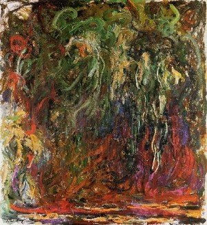 Claude Oscar Monet - Weeping Willow  Giverny
