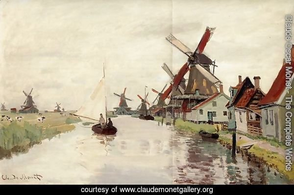 Windmills Painted In Many Colours Now A Tourist Attraction