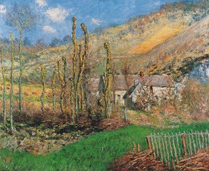 Claude Oscar Monet - Winter Landscape At The Val De Falaise