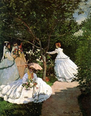 Claude Oscar Monet - Women In The Garden