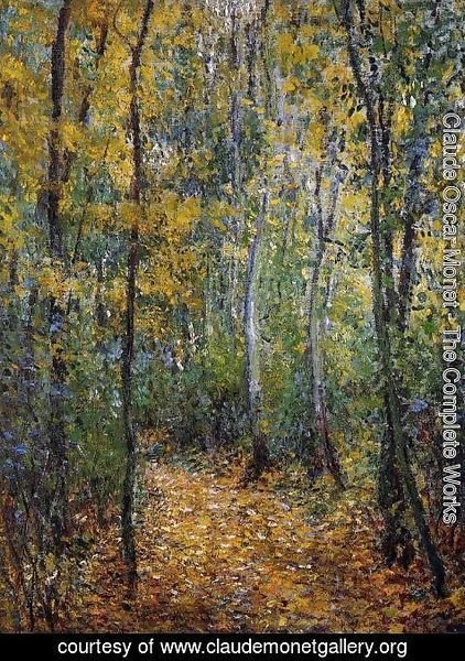 Claude Oscar Monet - Wood Lane