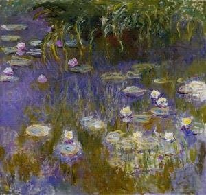 Claude Oscar Monet - Yellow And Lilac Water Lilies