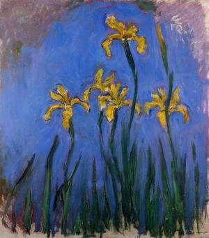 Claude Oscar Monet - Yellow Irises2