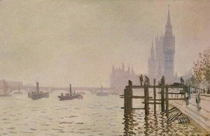 Claude Oscar Monet - Westminster Bridge