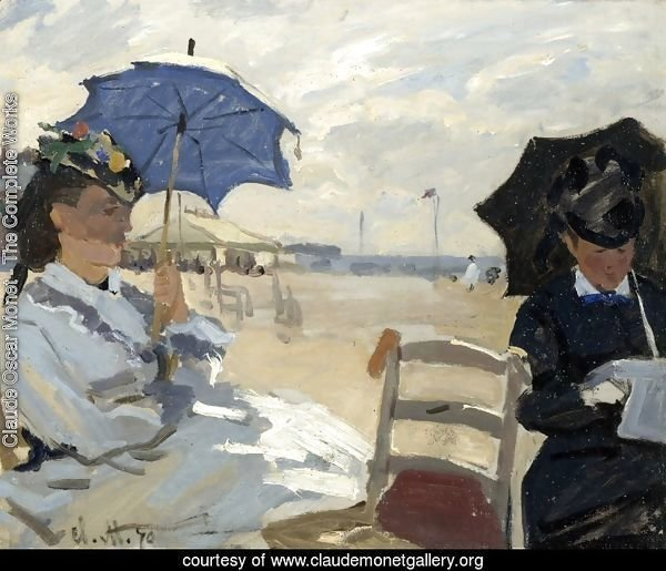 On the Beach, Trouville (La plague de Trouville)