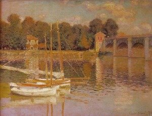 Claude Oscar Monet - Bridge at Argenteuil