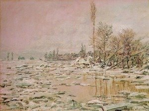 Claude Oscar Monet - Break-Up of the Ice