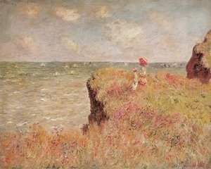 Claude Oscar Monet - Cliff Walk