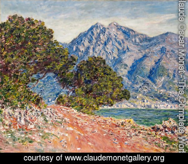 Claude Oscar Monet - Cap Martin, near Boston