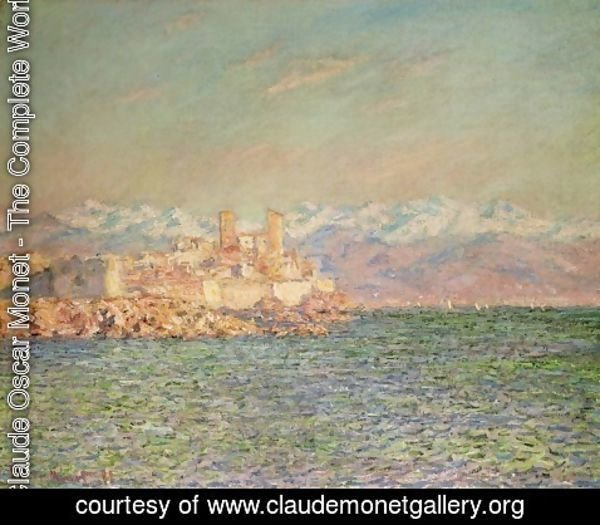 Claude Oscar Monet - Old Fort at Antibes
