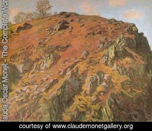 Claude Oscar Monet - Rock (Le bloc, Creuse)