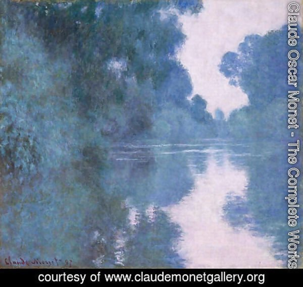 Claude Oscar Monet - Branch of the Seine near Giverny