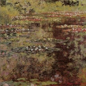 Claude Oscar Monet - Water Garden at Giverny