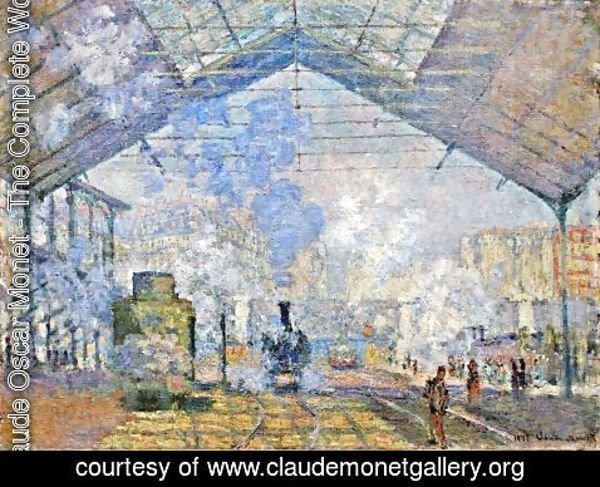 Claude Oscar Monet - Saint-Lazare Station