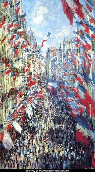 Rue Montorgueil, Paris: Festival of June 30, 1878