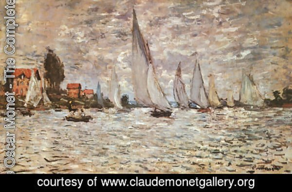 Claude Oscar Monet - Regatta at Argenteuil  1874