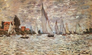 Regatta at Argenteuil  1874